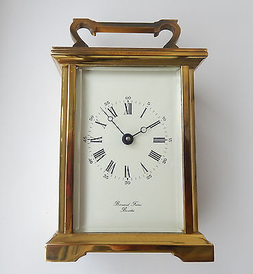 Superb Bormand Frere Brass Case Carriage Clock Fully Working  2709
