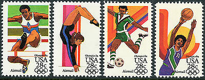 US Scott #C101-4 LA Summer  Olympics  MNH SET of 4***FREE SHIP***