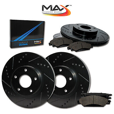 OE Replacement Rotors w//Ceramic Pads F 2006 Chevy Malibu Maxx See Desc.