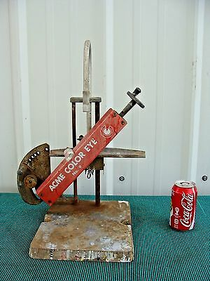 Antique Vintage ACME Automotive Paint Mixing Machine Display Decor Man Cave