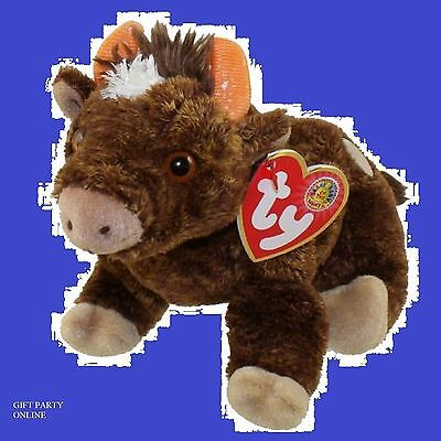 JERSEY the Cow BBOM January 2004 TY BEANIE BABY > BUY 4 BEANIES GET 1 FREE