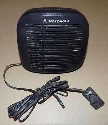 Motorola RSN4001A External 13 Watt Speaker w/Mounting Bracket 2-Way Radio