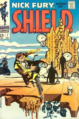 Nick Fury Agent of SHIELD (1968 1st Series) #7 VG- 3.5