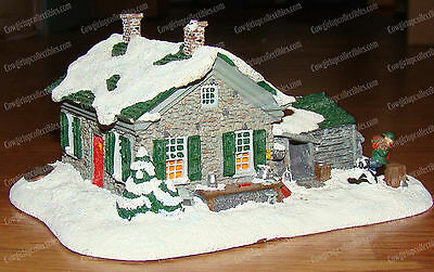Evergreen Cottage (Norman Rockwell, Hometown American Collection) 1992