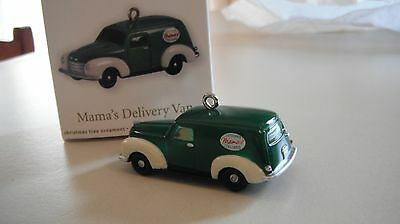 Mama's Delivery Van - Miniature Hallmark Ornament 2012