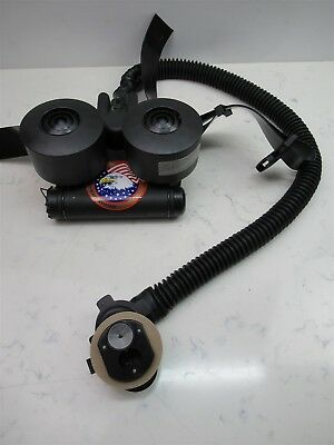 Scott C420 PAPR Powered Air Purifying Respirator Blower Belt & Battery w Filters