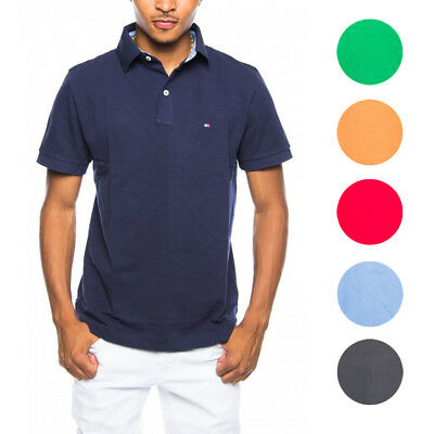 Tommy Hilfiger NEW Mens Custom Fit  Premium Cotton Polo Shirt $59
