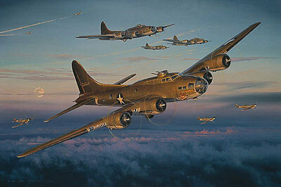 Paul Tibbets Enola Gay Pilot- Return Of The Red Gremlin B-17 ! Crew Signed !