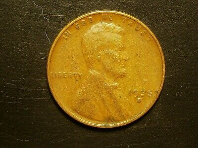 1935-S   Lincoln Cent   nice coin  free shipping/'
