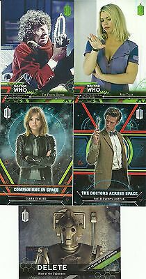 2016 Topps Doctor Who Extraterrestrial Encounters 133 Card Mini Master Set