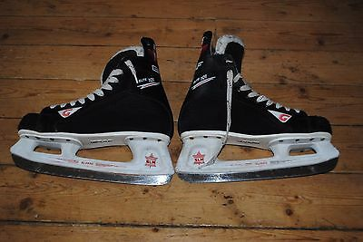 ⭐️ Mens Graf Slm Elite 101 Hockey Ice Skates Size Uk8 Eu42 Sl-2500 ⭐️