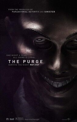 Purge - original DS movie poster D/S 27x40 Style A