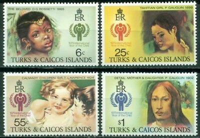 Turks & Caicos Islands Scott #386-389 MNH Int'l Year of the Child IYC $$