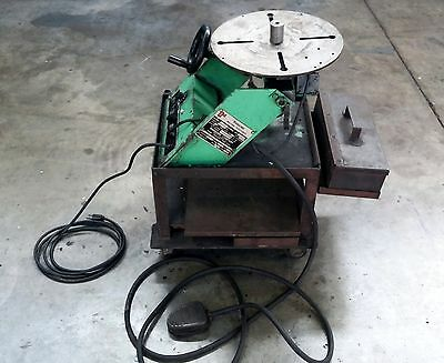 Ransome B1 Welding Positioner 0.5-10. Table Rpm's Foot Pedal Controls
