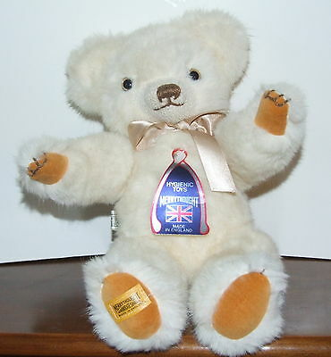 "Merrythought Hygienic 16"" Plush Jointed Bear ~ Made In England w/ Tags"