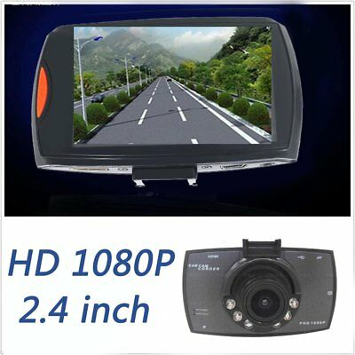 HD 1080P LCD Car DVR Dash Camera Night Vision Cam Video Driving Recorder US