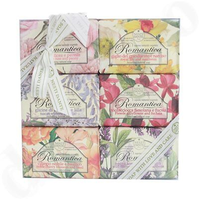 Nesti Dante Seifen Geschenk-Set Romantica Collection (6x 150g)
