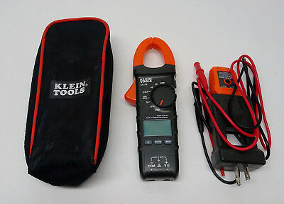 Klein Tools CL110 Auto-Ranging 400 Amp Digital Clamp Meter Test Kit - 03/B30093A