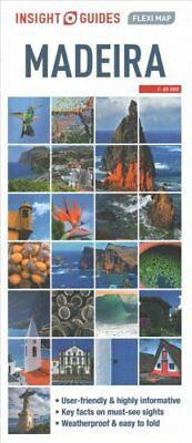 Insight Flexi Map: Madeira by APA Publications Limited 9781780055312