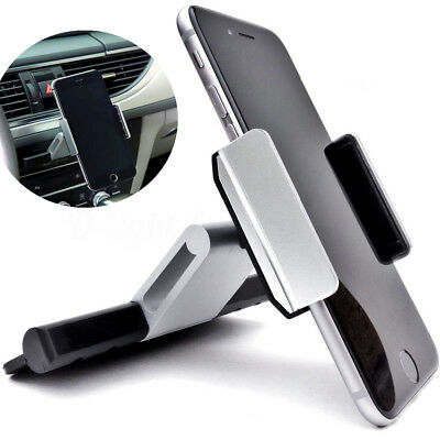 INSMA 360° Universal Car CD Slot Mount Phone Holder Stand For iPhone Samsung GPS
