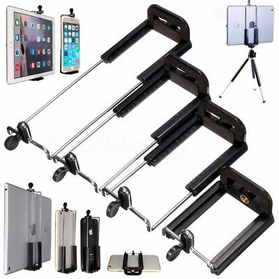 Universal Tripod Holder Bracket Clip Mount Stand Adapter for Cell Phone Tablet