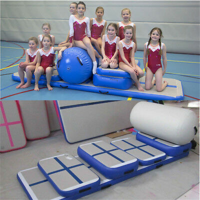 5 Sets Air Tumbling Track Roller Inflatable Gym Mat Roller Home Training  Sport