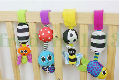 Baby Child Kid Flutter Soft Stuffed Play Mat Stroller Accessory Crib Toy