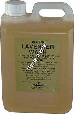 Gold Label Lavender Body Wash 5L Non Rinse Formula Cools & Soothes