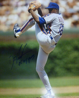 Dwight Doc Gooden Autographed New York Mets 16X20 Photo 85 Cy Young 11412