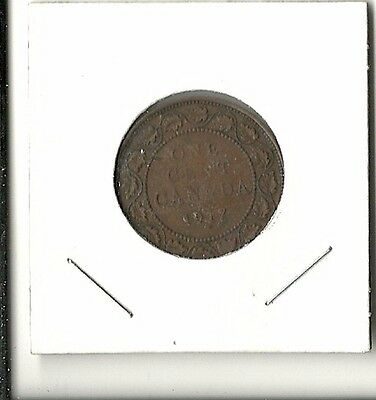 Canada:  1917 One Large Cent - Free Shipping