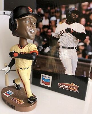>> New 2012 Barry Bonds SF Giants 2002 Reunion SGA Bobblehead not shirt cap pin