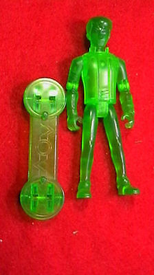 """Ben 10 Ben Tennyson Transparent Green 3.5"""" I Will Combined Postage"""