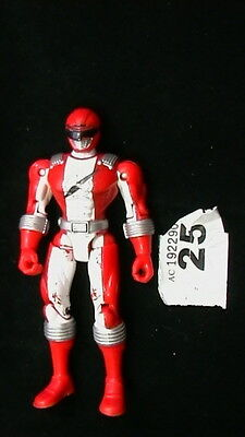 POWER RANGERS OPERATION OVERDRIVE - RED RANGER FIGURE 14 TO 15cm- COMBINED POST