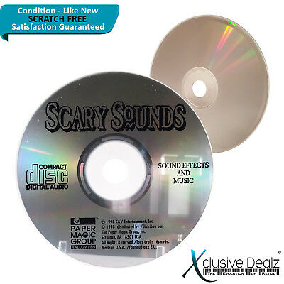 SCARY SOUND MACHINE 16 Awesome Sound Effects Cat Witch Halloween