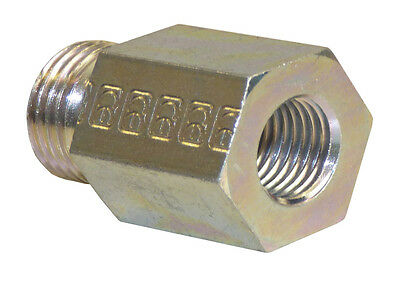 """Connector Adapter Nipple Extension M18 AG - 1/4 """" IG Clutch Connector"""