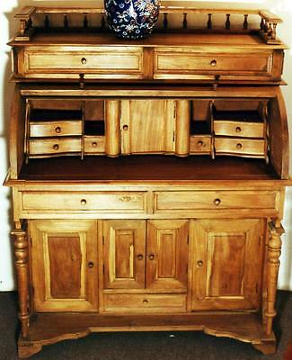SÄULEN SEKRETÄR KOMMODE SECRETARY DESK Barock Biedermeier Empire 18 19 antik