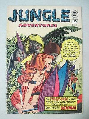 Jungle Adventures #15 Super Comics 1964 Reprints Kaanga Tiger Girl Gga