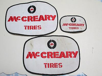 McCREARY TIRES IRON ON PATCHES (3)