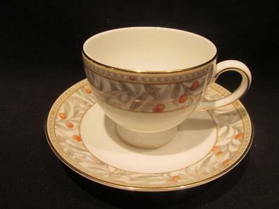 Juniper by Wedgwood Lovely Bone China Tea Cup & Saucer Art Deco Look