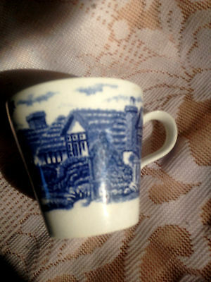 Blue And White Cup -Good Condition