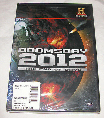 Doomsday 2012 DVD, 2009, The End of Days, Educational, Free Shipping U.S.A.