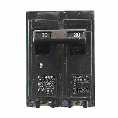 Murray Mp230 Circuit Breaker, 120-Volt, 2-Pole, 30-Amp, Type Mp-T