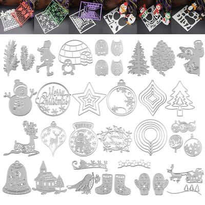 Christmas Tree Card Decor Scrapbooking Cutting Die Stencil Paper Embossing Craft