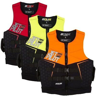 Jet Pilot L50 Mens Cause Water Ski Jacket Jetski Vest Sizes S-4XL JA6217