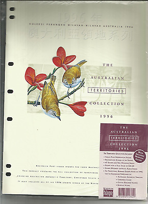 Mint 1996 Australian Territories Stamp Collection - Aat,cocos Isl,xmas Island