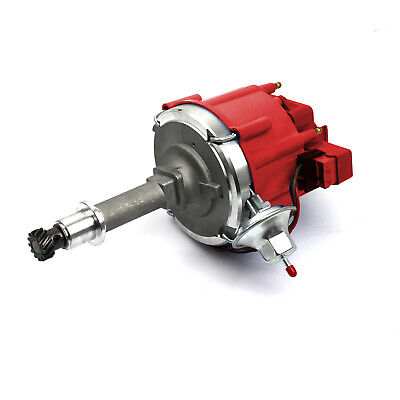 Holden 6 Cyl 186 202 65K Coil HEI Electronic Distributor - Red Cap