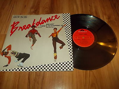 "Ollie & Jerry-Breakin' there's no stopping us-12"" single 1984"