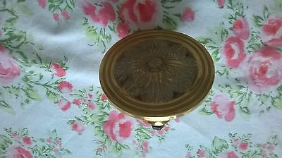 Vintage Solid Brass Center Door Knob