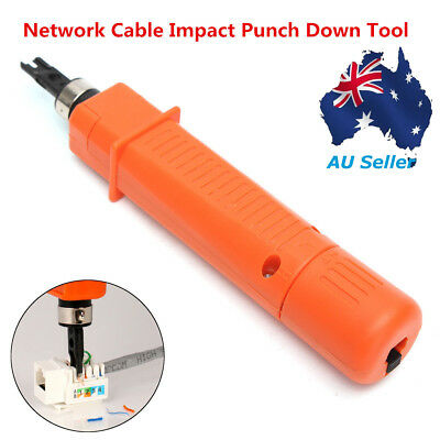 Fix Cut Off Telephone Wire Reticle Keystone Network Cable Impact Punch Down Tool