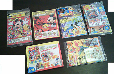 Collector Journal Mickey 80 Ans Luxe Blister Minnie Donald Picsou Dingo Disney